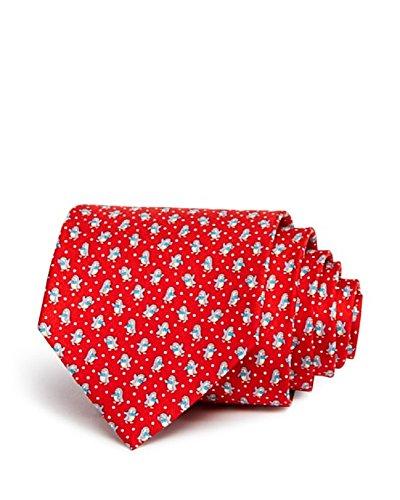 Salvatore-Ferragamo-Mens-Red-Penguin-Neck-Tie