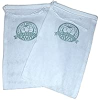 Two One-Gallon Cold Brew Coffee Filter Pouches (2-pack) and 3 Free Recipe Books -Cooking with Cold Brew Coffee downloadable eBooks