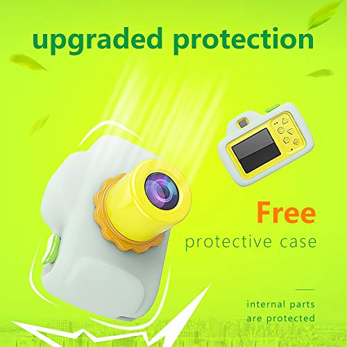 ZTour Smallest Kid Digital Camera, Mini Creative Cute HD Digital Children Camcorders,Sport Action Toy Camera Video Recorder with 1.5 Inch Screen,Soft Silicone Protective Shell for Boys Girls Gifts by ZTour (Image #6)