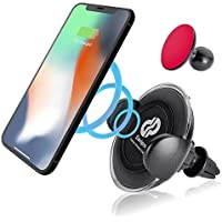 Davipro Premium Wireless Charger Car Mount Air Vent Phone Holder Cradle For Apple iPhone X/iPhone 8/iPhone 8 Plus, Samsung Galaxy Note 8/S8/8+ and Other Qi-compatible devices