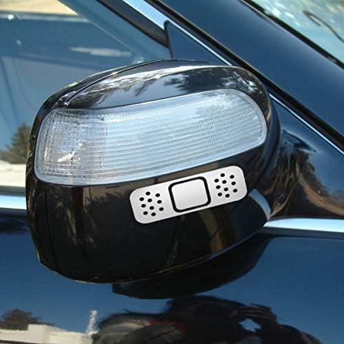 NUOBESTY 5ピースバンドカーステッカー反射窓デカール装飾オートバイステッカーイースターパーティー用品(白)