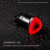 BOHSRL Bike Tail Light, Smart Brake Sensor USB