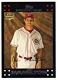 2007 Topps Baseball Rookie Card 625 Josh Hamilton M (Mint)
