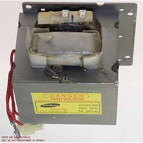 Siemens - Transformador de alta tensión para microondas ...