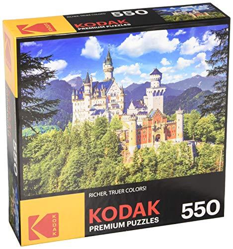 KODAK Premium Puzzles Neuschwanstein Castle Bavaria Jigsaw -