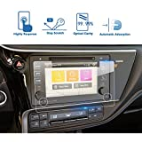 toyota corolla touch screen - 2017 Toyota Corolla 7 Inch Entune Car Navigation Screen Protector, LFOTPP TEMPERED GLASS Infotainment Display In-Dash Media Center Touch Screen Protector Scratch-Resistant
