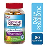 Digestive Advantage Probiotics - Daily Probiotic Gummies, 80 Count