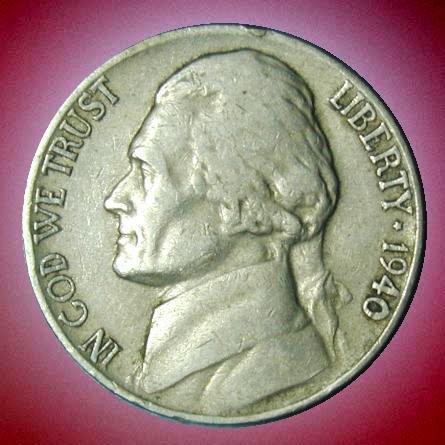 1940 Jefferson Nickel - 1940-D Jefferson Nickel