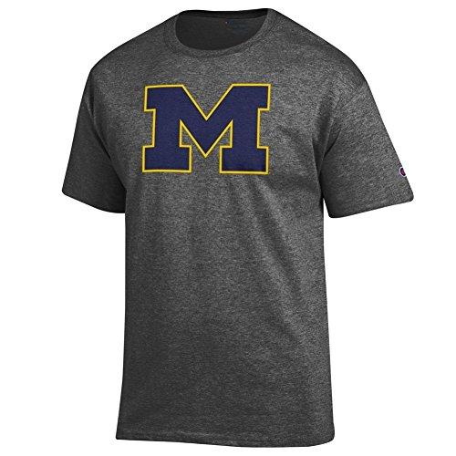 Michigan Wolverines TShirt Charcoal - L