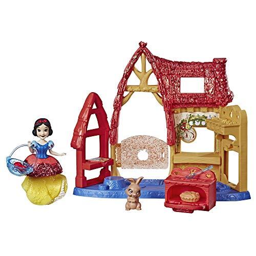 Disney Princess Cottage Kitchen & Snow White Doll, Royal Clips Fashion, One-Clip - Skirt Toy