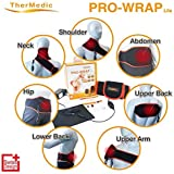 Far Infrared Neck, Shoulder and Lower Back Heating Pad (Hot/Warm Therapy for Pain Relief and Muscle Relaxation) TherMedic PW140L