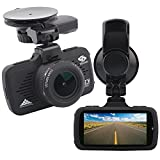 EBORN HD Dash Cam with Built in GPS ,170° Angle View,1080P 1296P,32GB Card included,Car Dashboard Camera Recorder DVR with 2.7 inch LCD, Parking Monitor