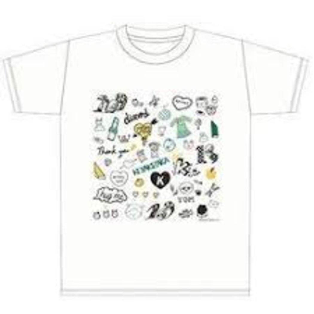 欅坂46×109 Tシャツ 白 L   B0724ZSL5C