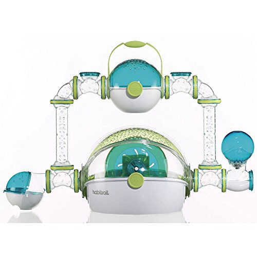 Hamster Hagen Cage (Habitrail Ovo Dwarf Hamster Habitat Cage (One Size) (May Vary))