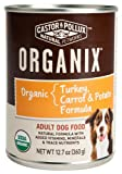 Castor and Pollux Organix Turkey, Carrot and Potato Adult Dog Food, 12.7 Ounce Cans (Pack of 12), My Pet Supplies