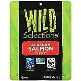 WILD SELECTIONS Alaskan Wild Salmon, 2.5 Ounce