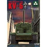TAKOM TAK2006 1/35 Soviet Super Heavy Tank KV-5 Model Kit