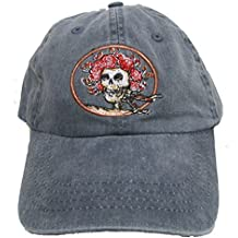 Blue Mountain Dyes LLC Licensed GD Skull & Roses Embroidered Cap by Dye The Sky