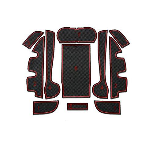 sunworld-black-red-non-slip-car-cup-door-mat-gate-slot-pad-for-2012-2014-toyota-camry