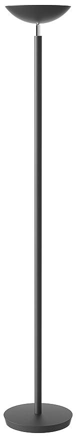 Alba HALO6 R7S 200W halógena Lámpara de pie, Negro