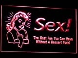 ADV PRO j029-r Sex Spoof Decor Beer Pub Neon Light Sign 'FORK'