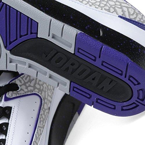 brand new 14fad e97ac Nike Air Jordan 2 Retro Bg Hi Top Trainers 395718 Sneakers Shoes (Uk 5.5 Us