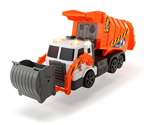 DICKIE TOYS Action Series Garbage Truck -