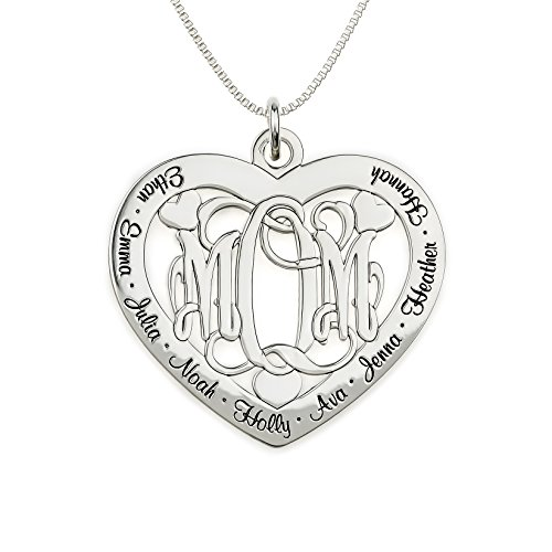 Mother's Personalized Monogram Necklace