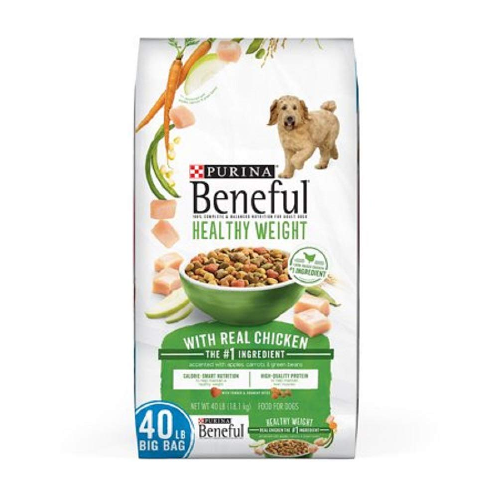 Purina Beneful IncrediBites for Small Dogs Adult Dry Dog Food (Healthy Weight, 40 lb.) by Purina Beneful