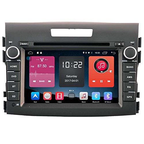 Autosion 7 inch In Dash Android 6.0 Car DVD Player Radio Head Unit GPS Navigation Stereo for Honda CRV 2012 2013 2014 2015 Support Bluetooth SD USB Radio OBD WIFI DVR 1080P