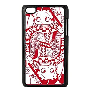 Boop Queen Of Hearts iPod Touch 4 Case Black Protect your phone BVS_593698