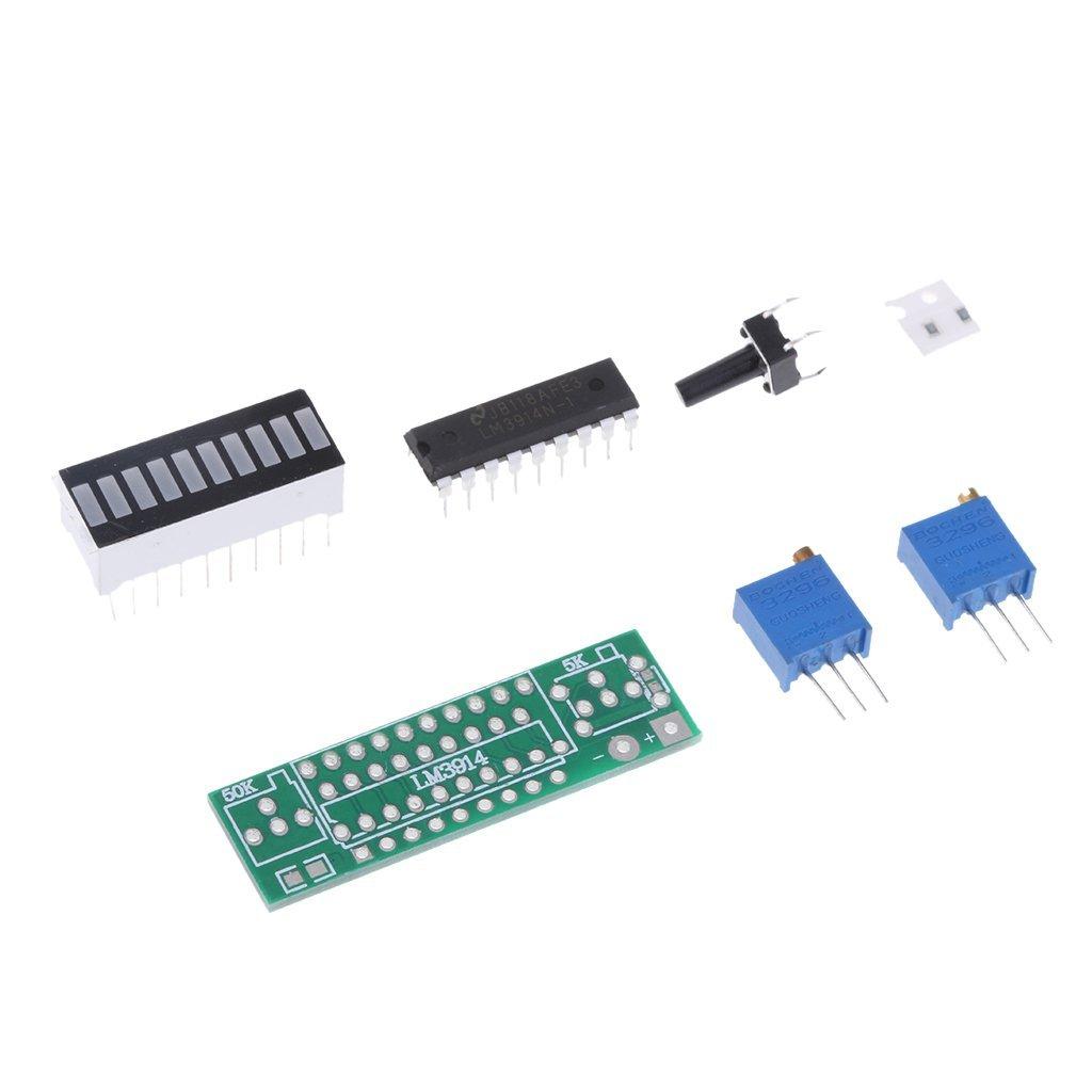 Homyl Lm3914 10 Segment 5v 12v Battery Capacity Power Basic Circuit For Electronics