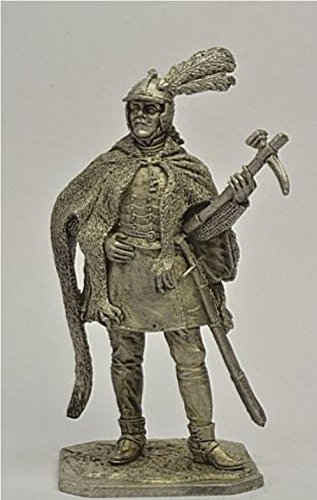 Pr3 Miniature - HISTORICAL TIN FIGURES POLISH HUSSAR COMRADE 1600 - 20 YEARS 54MM 1/32 PR3