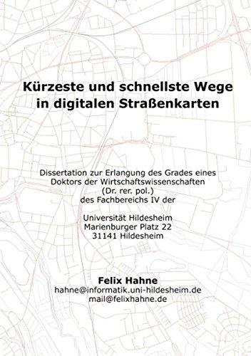 Kürzeste und schnellste Wege in digitalen Strassenkarten