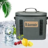 Bulary 19L Car Insulation Bag Outdoor Camping Incubator Leak-proof Cooler Waterproof Insulated Soft Sided Cooler Bag Hiking, Camping, Sports, Picnics, Sea Fishing