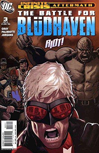 Crisis Aftermath: The Battle For Blüdhaven #3 VF ; DC comic book