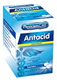 PhysiciansCare Antacid Heartburn Medication (Compare to Tums), 12 Boxes of 50 Packets 2 Tablets Each, 420 mg (1500 total)