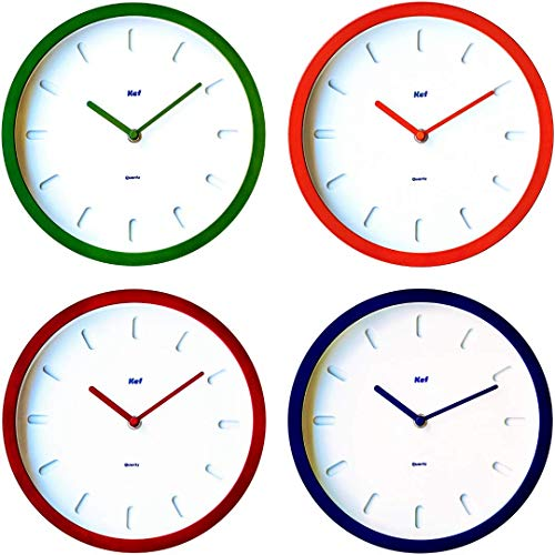 The Kef Clock by Marksson 》Round modern contemporary design. This 10