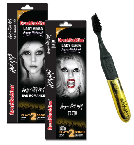 Brush Buddies Lady Gaga Singing Toothbrush