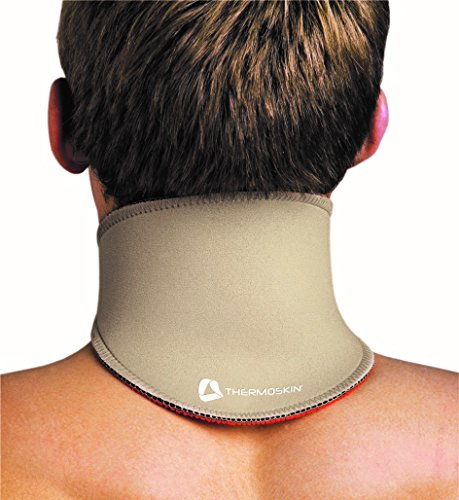 (Thermoskin Neck Wrap, Beige, Large)