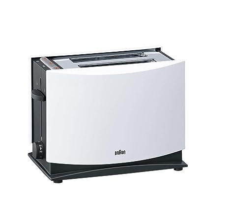 Braun Multi Toast HT450Bk Tostadora, 2 Ranuras, Blanco