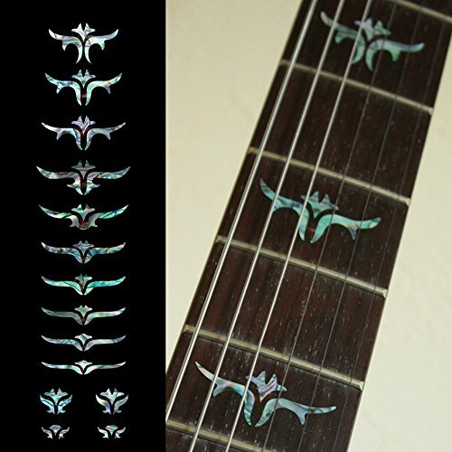 Fretboard Markers Inlay Sticker Decals for Guitar Bass - Tailored Leaves ()