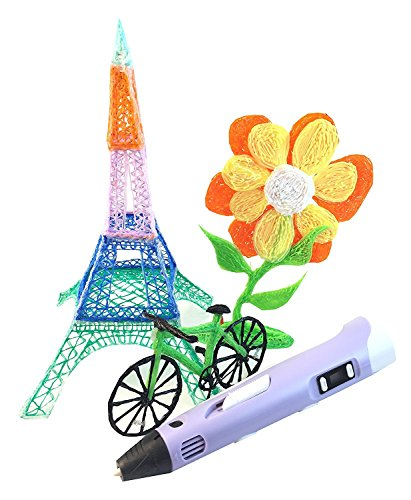 Intelligent Hardware (3D Pen, 3D Printer Doodling Pen Art & Craft Making DIY Tool with 1.75mm PLA Filament Refill—Intelligent Kids Toys)