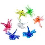 SuperMoss (90545) Dragonfly Orchid Clips, Assorted, 16 Units