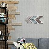 Rustic Arrow Wall Decor-Wooden Chevron Sign Room