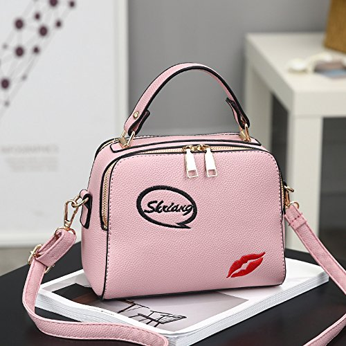 Xiekua XWAN moda Bolso de rojo Pink nueva goma Bolso Ocio Paquete wtqt8Yrnx