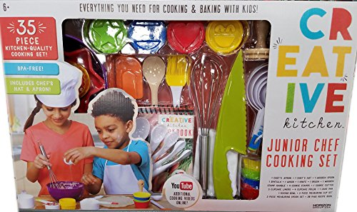 Creative Kitchen Junior Chef 35 Piece Cooking Set