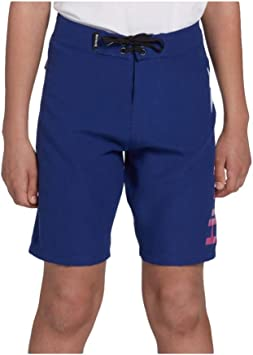 8-20 Hurley Boys Deep Royal Blue, 14 Gradient One and Only Swim Board Shorts