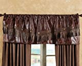 Distressed Leather Western Valance – Rustic Window Treatment Review