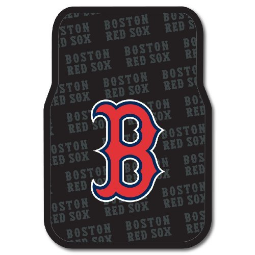 (MLB Boston Red Sox Auto Front Floor Mat, 2-Pack)